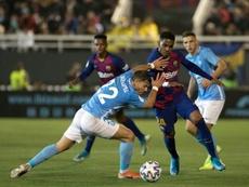 Rivaldo criticó el partido del Barça. AFP