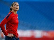 Hope Solo criticó duramente la crisis futbolística de EEUU. AFP