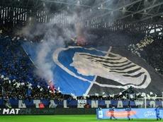 Histórico: el himno de la UEFA sonará en Bérgamo tras el visto bueno de la UEFA. AFP