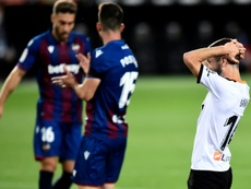Gayà podría volver ante el Espanyol. AFP