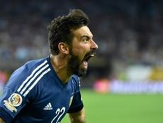 Lavezzi deja el fútbol profesional. AFP