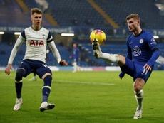 Tottenham reprend la tête malgré un nul à Stamford Bridge. AFP
