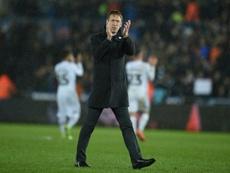Graham Potter será el próximo entrenador del Brighton. AFP/Archivo