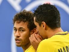 Marquinhos falou sobre Neymar. AFP