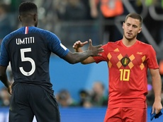Hazard criticised France. AFP