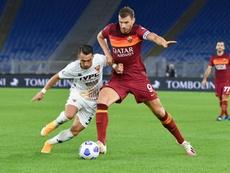 AS Roma forward Edin Dzeko is a target of Inter. AFP