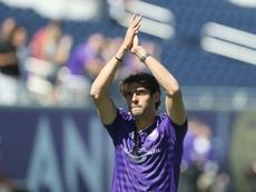 Kaká podría terminar su carrera en la Liga China. AFP