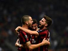 Fulham voudrait recruter le joueur du Milan AC. AFP