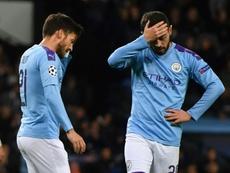 Les compos probables du match de Premier League entre Manchester City et West Ham. AFP