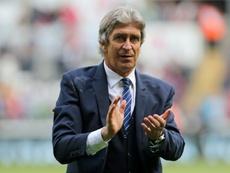 Pellegrini no ha comenzado con buen pie en Londres. AFP