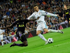 Tottenham and Real Madrid will do battle at Wembley on Wednesday. AFP