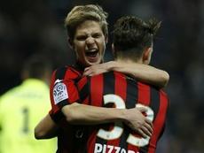 El joven jugador del Niza confía en su equipo. AFP