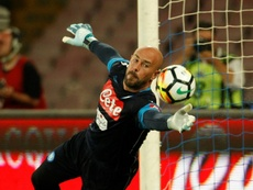 Pepe Reina could replace Keylor Navas. AFP