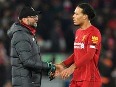 El Liverpool afronta ocho días de infarto. AFP