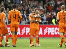 Sneijder a conseillé De Jong sur son avenir. AFP