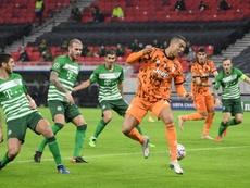 Cristiano y Morata promedian 1,21 goles por partido juntos. AFP