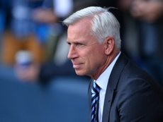 Pardew is under fire after a poor start to the season at Crystal Palace. AFP