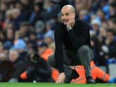 Guardiola no fue tan negativo como sus jugadores. AFP/Archivo