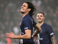 'L'Équipe': el PSG rechaza una oferta del Atleti por Cavani. AFP