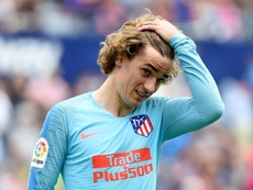 O Barcelona tenta baixar a cláusula de Griezmann. AFP