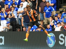 Abel Hernández parece que jugará en el Leeds el curso próximo. AFP/Archivo