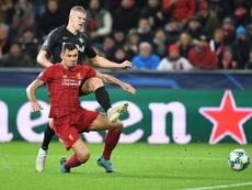 Liverpool en passe de prolonger Lovren. AFP