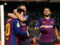Las rotaciones de Valverde. AFP