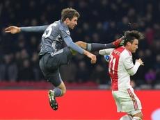 Tagliafico suena para abandonar el Ajax. AFP