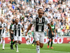 Un seul match pour Cristiano. AFP