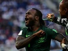 Moses no arranca en el Fenerbahçe. AFP