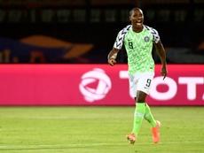 Ighalo é o Chuteira de Ouro da Copa da África. AFP