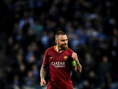 Daniele de Rossi is certainly leaving Roma in the summer. AFP