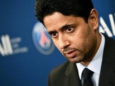 La justicia suiza acusa a Al-Khelaïfi de corrupción. AFP