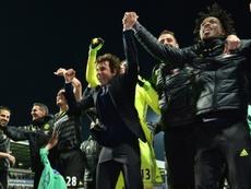 Desde la Premier League con Conte, en 2017, ningún equipo londinense ha triunfado. AFP