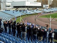 Alexandr Danishevski analizó el fútbol en Crimea. AFP