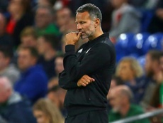 Giggs has been left pondering a tough road ahead for Euro 2020 qualification. AFP