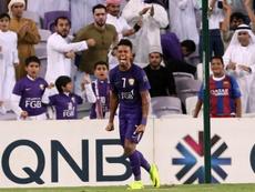 Caio tiene contrato con Al Ain hasta junio de 2019. AFP