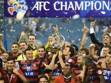 Australia suspendió su Liga por el COVID-19 el 24 de marzo. AFP