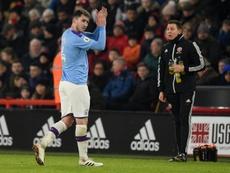 Guardiola encense Aymeric Laporte. AFP