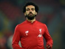 Elneny aconsejó a Salah no moverse de Liverpool. AFP