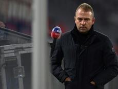 Flick habló tras vencer al Stuttgart. AFP