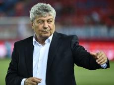 Lucescu clasificó al Dinamo de Kiev para la fase de grupos de la Champions League. AFP