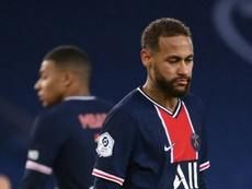 Neymar ha pensato di lasciare il calcio. AFP