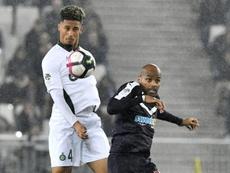 Arsenal répond à Saint-Etienne pour Saliba. AFP