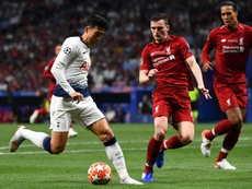 Liverpool would be lost without Firmino – Robertson. AFP