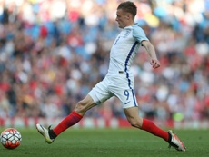 Jamie Vardy's rise to the England team. AFP
