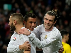 Benzema, Cristiano y Bale marcaron este fin de semana. APF/Archivo