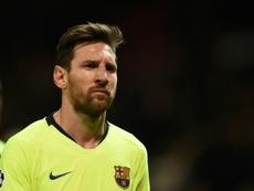Ernesto Valverde da descanso a Messi. AFP