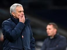 Los de Mourinho son sextos con 30 puntos. AFP