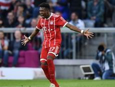 Alaba solo quiere jugar en España. AFP